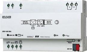 Jung KNX Spannungsversorgung 640mA m.int.Dossel USV 640 MA
