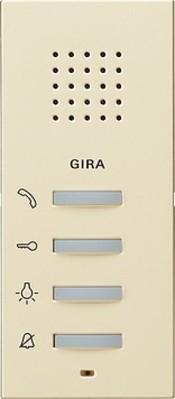 Gira Wohnungsstation Freisp. AP cw gl 125001