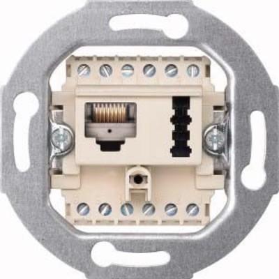 Merten Kombidose weiß UAE/TAE 8(6)-6F+N 465707