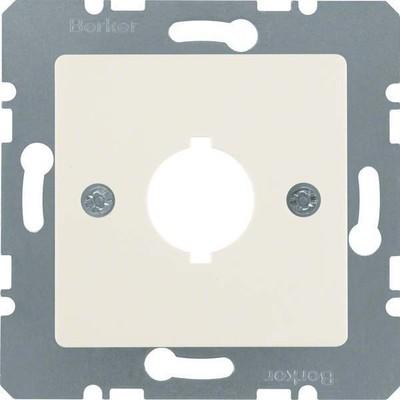 Berker Zentralplatte weiß f.Melde-/Befehlsger. 143102