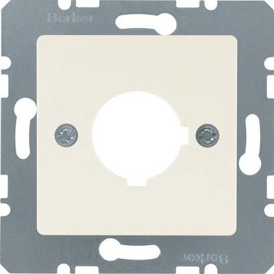 Berker Zentralplatte weiß f.Melde-/Befehlsger. 143202