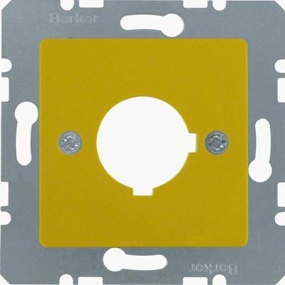 Berker Zentralplatte ge f.Melde-/Befehlsger. 143207