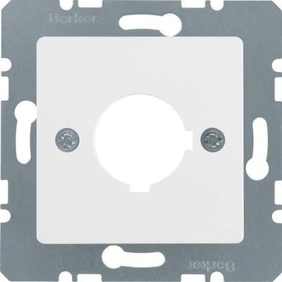 Berker Zentralplatte pws f.Melde-/Befehlsger. 143209