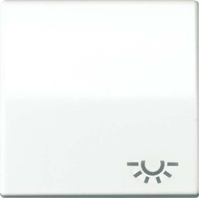 Jung Wippe Symbol LICHT alpinweiß für Schalter/Taster ABAS 591 L WW
