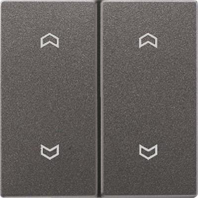 Jung Wippe Symbole anthrazit für Taster AL 2995 MP AN