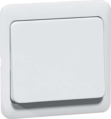 Peha Tastaufsatz weiß für Dimmer/Schalter D 80.420 W