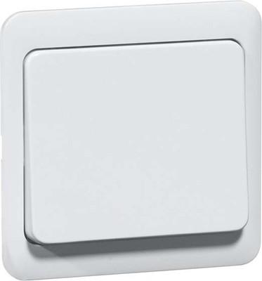 Peha Tastaufsatz reinweiß für Dimmer/Schalter D 80.420.02