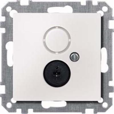 Merten Steckdosen-Einsatz polarweiß Lautsprecher 295919