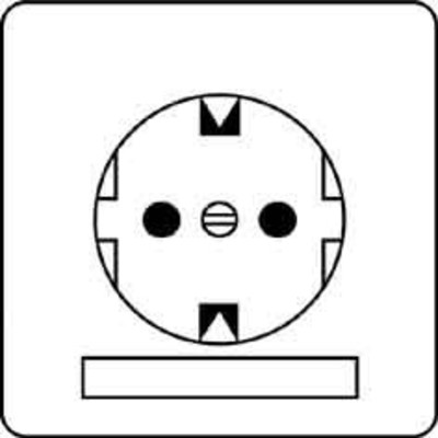Peha SCHUKO-Steckdose weiß 16A 250V Steckklemm. D 80.6511 NA W