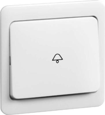 Peha Wippe Symbol KLINGEL weiß für Taster D 80.640 K W