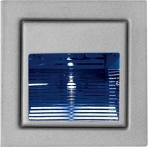 Brumberg Leuchten LED-Wand-EB-Leuchte aluminium Power-LED bl, 1W P3729B
