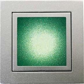 Brumberg Leuchten LED-Wand-EB-Leuchte aluminium Power-LED weiß, 1W P3730W