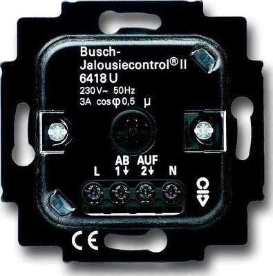 Busch-Jaeger Jalousie-Basis-Einsatz 2Schliesser 3A 690VA 6418 U