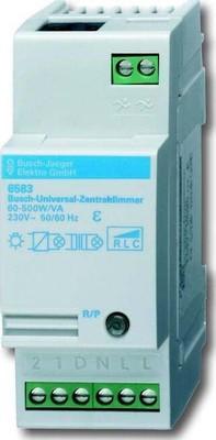 Busch-Jaeger Univ.-Zentraldimmer REG 60-500W 2TE 6583