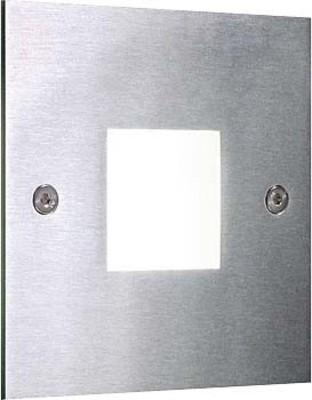 Brumberg Leuchten LED-Wand-EB-Leuchte edelstahl 1xPower-LED 1W weiß P3930W