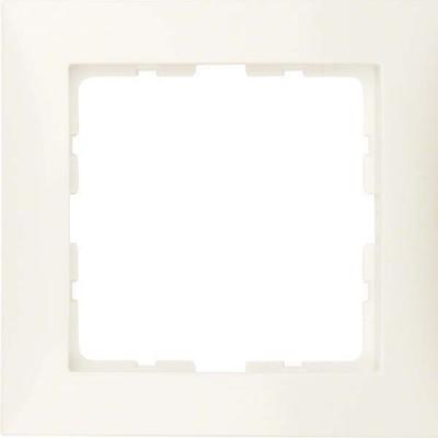 Berker Rahmen 1-fach cremeweiß glänzend 10118982