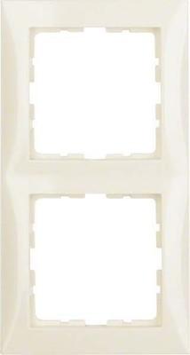 Berker Rahmen 2-fach polarweiß glänzend senkr. u.waagerecht 10128989