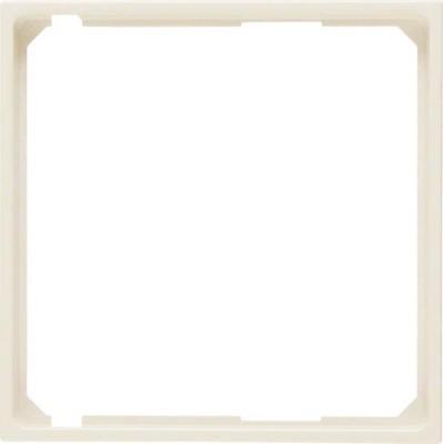 Berker Zwischenring cremeweiß glänzend für Zentralplatte 11098982