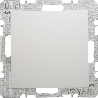 Berker Blindverschluss polarweiß glänzend m.Zentralstück 6710098989