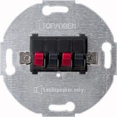 Merten Lautsprecher-Einsatz anthrazit 2-fach 467014