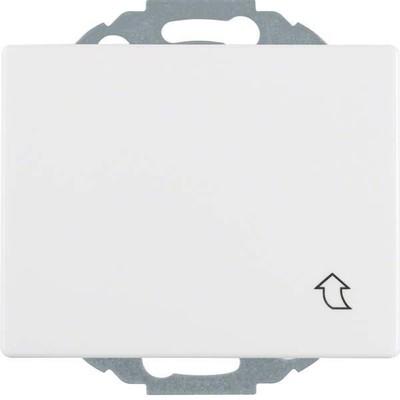 Berker Steckdose polarweiß glänzend mit Klappdeckel 47470069