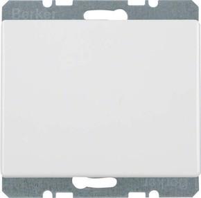 Berker Blindverschluss polarweiß glänzend mit Zentralstück 10450069