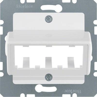 Berker Zentralplatte pws f.3 MINI-COM Module 142709