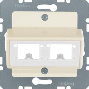 Berker Zentralplatte f. 1o.2 Einzelmodule 147202
