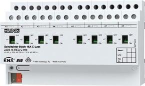 Jung KNX Schaltaktor 8-fach C-Last 2308.16 REGCHM