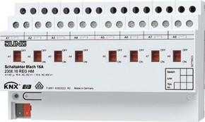 Jung KNX Schaltaktor 8-fach REG Gehäuse 8TE 2308.16 REGHM