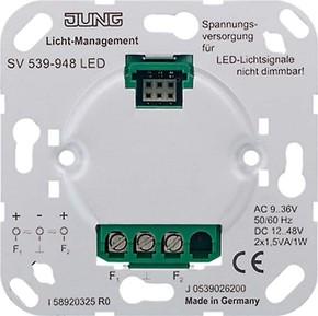 Jung Spannungsversorgung AC9-36V DC12-48V SV 539-948 LED
