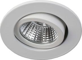 Brumberg Leuchten LED-Deckeneinbauleuchte weiß 3W 2700K 260lm 12231073