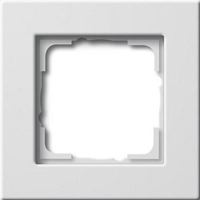 Gira Rahmen 1-fach reinweiß-glänzend E22 0211201