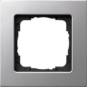 Gira Rahmen 1-fach aluminium E22 0211203