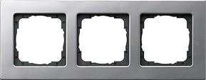 Gira Rahmen 3-fach aluminium 0213203