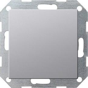Gira Blindabdeckung aluminium 0268203