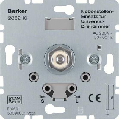 Berker Universal-Drehdimmer Nebenstelleneinsatz 286210