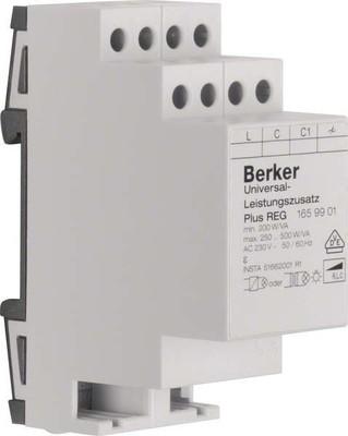 Berker Universal-Leistungszusatz lgr, REG Plus 1659901