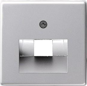Gira Zentralplatte UAE/IAE aluminium 0270203