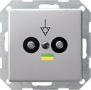 Gira Potentialausgl.-Dose aluminium 0405203