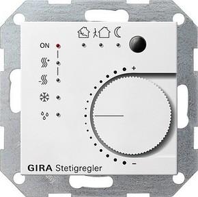 Gira Stetigregler reinweiß-glänzend KNX/EIB 210003