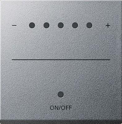 Gira Aufsatz Touch-Dimmer aluminium System 2000 226026