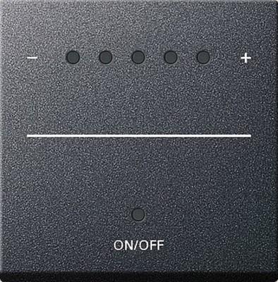 Gira Aufsatz Touch-Dimmer anthrazit System 2000 226028