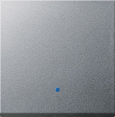 Gira Aufsatz Touchschalter aluminium System 2000 226126