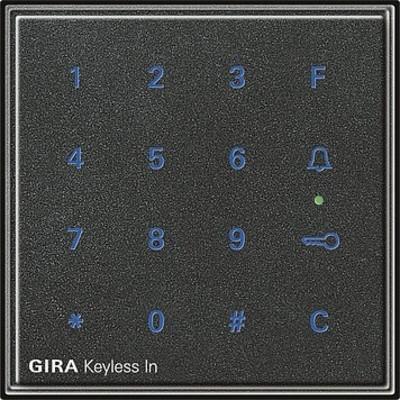 Gira Code Tastatur anthrazit Keyless In 260567