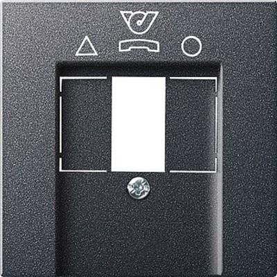 Gira Zpl.TDO-Anschlussdose Syst em 55 anthrazit 026028
