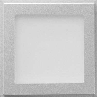 Gira Orientierungslicht TX_44 Farbe aluminium 116265