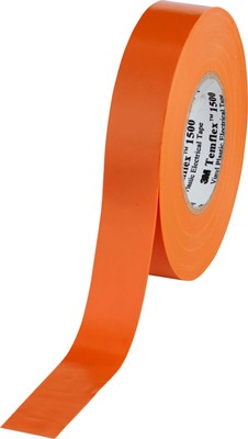 3M Deutschland Vinyl Elektro-Isolierband 19 mm x 25 m, orange TemFlex 1500 19x25or