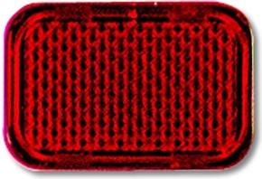 Busch-Jaeger Tastersymbol rot 2145-12