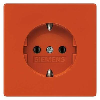 Siemens Indus.Sector Schuko-Dose Delta Style, orange 5UB1850